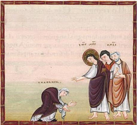 Jésus & la cananéenne.jpg