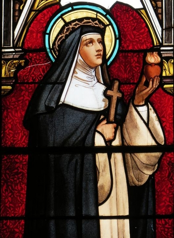 catherine de sienne, eucharistie, saint pierre-julien eymard, #jubilépjeymard2018, foi, christianisme
