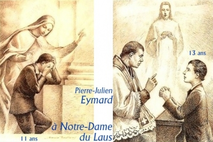 st pierre-julien eymard,eucharistie,chapellecorpuschristiparis8,fraternité eucharistique,#jubilépjeymard2018,foi,adoration,adoration eucharistique,transmission,sandrine treuillard,étienne parrocel