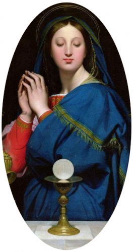 JD Ingres La Vierge à l'hostie oval Louvre.jpg