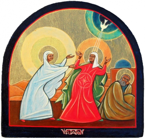 la visitation,christian de chergé,christian salenson,foi,christianisme,islam,esprit saint,magnificat,sandrine treuillard